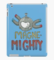 Magne-Mighty! iPad Case/Skin
