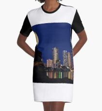 Where serenity ends Graphic T-Shirt Dress