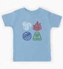 Four Elements Minimalist Kids Tee