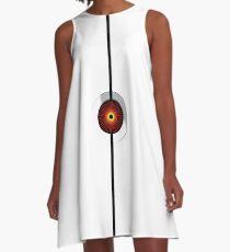Portal Turret A-Line Dress