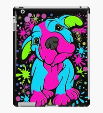 Colourful Pit Bull Puppy  iPad Case/Skin