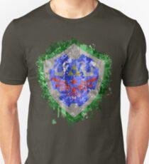 Hylian Shield Splatter T-Shirt