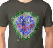 Hylian Shield Splatter Unisex T-Shirt
