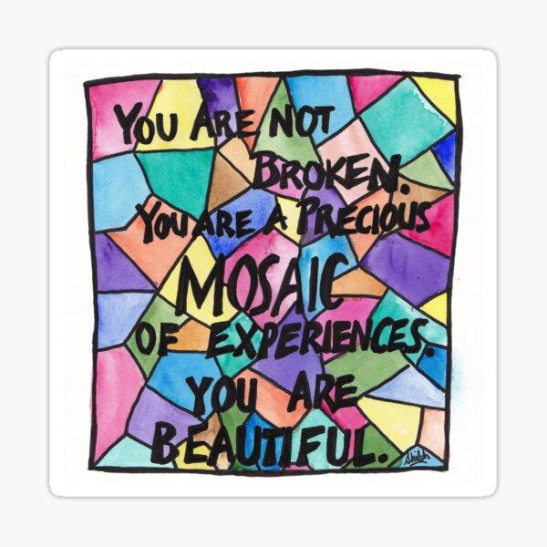 Precious Mosaic Sticker