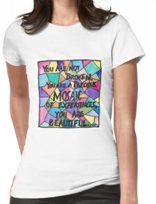 Precious Mosaic Womens Fitted T-Shirt