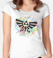 Royal Crest Women's Fitted Scoop T-Shirt