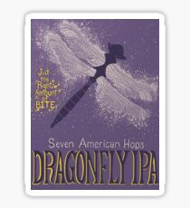 Dragonfly IPA Beer Logo Sticker