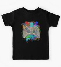 Painted Xbox 360 Controller Kids Tee