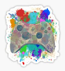 Painted Xbox 360 Controller Sticker