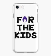 For The Kids--Winona State University iPhone Case/Skin
