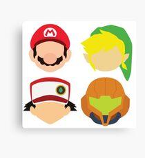 Nintendo Greats Canvas Print
