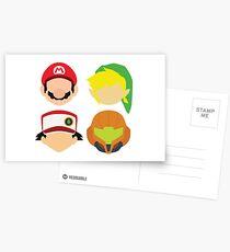 Nintendo Greats Postcards