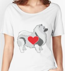 Keeshond Women's Relaxed Fit T-Shirt