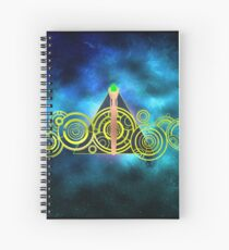 The Doctor's Hallows Spiral Notebook