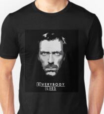 House M.D. - Everybody Lies Unisex T-Shirt
