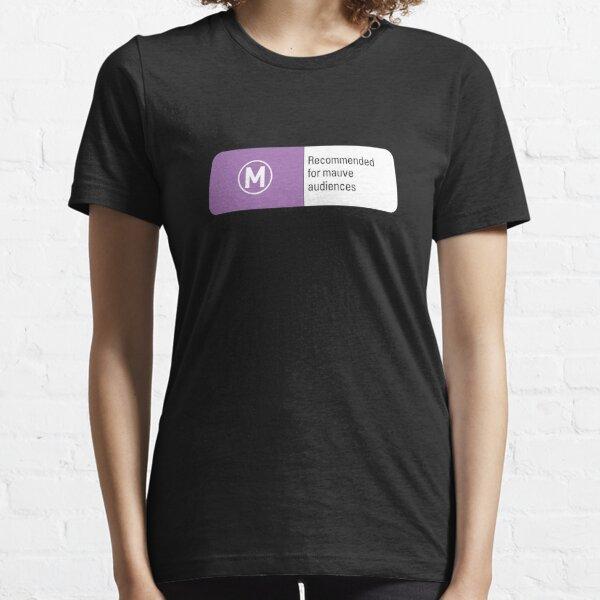 Mauve audiences Essential T-Shirt
