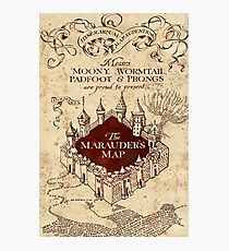 marauders brown Photographic Print