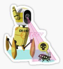 "Pest Elimination Unit CN-CR2 aka ""Concerto"" Sticker"