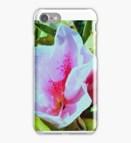 Pretty Pink Fab Flower iPhone Case/Skin