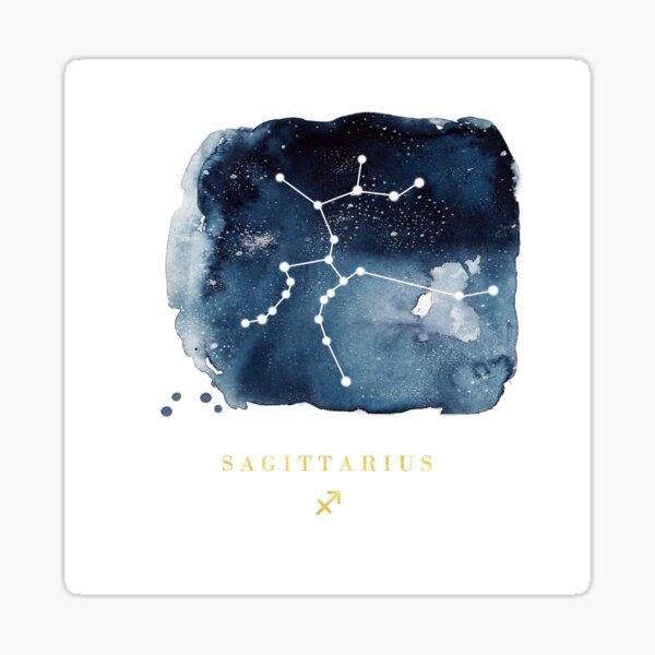 Sagittarius Zodiac Constellation  Sticker