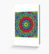 Psychedelic LSD Trip Ornament 0011 Greeting Card