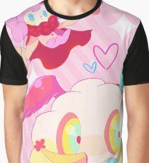 Nachtisch Hexe Grafik T-Shirt