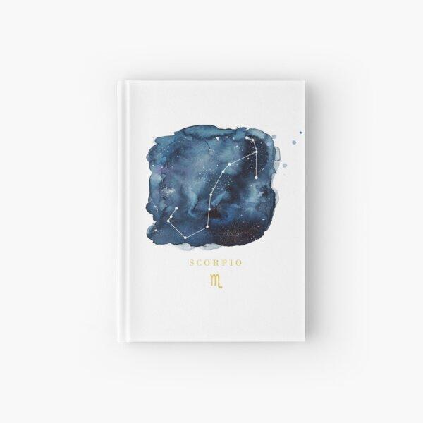 Scorpio Zodiac Constellation Hardcover Journal