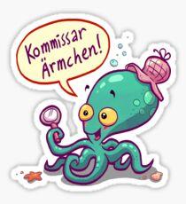 Kommissar Ärmchen Sticker