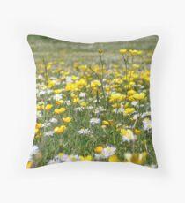 buttercupsndaises Throw Pillow