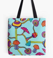 Psychedelic Magic Mushroom Ornament 0003 Tote Bag