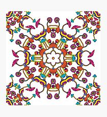Psychedelic Magic Mushroom Ornament 0006 Photographic Print