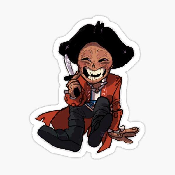 Mischievous Hancock Sticker