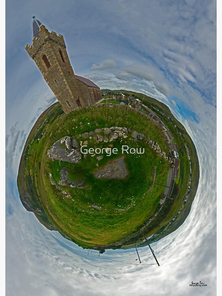 Glencolmcille Church - Sky Out by VeryIreland