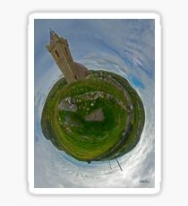 Glencolmcille Church - Sky Out Sticker