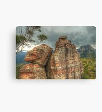 Castle In The Forest Canvas Print