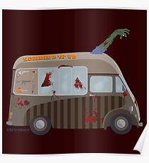 Zombie Truck Poster