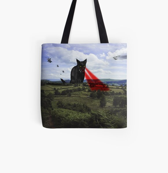 Catastrophe 2 All Over Print Tote Bag