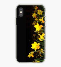 daffs.on.blk iPhone Case