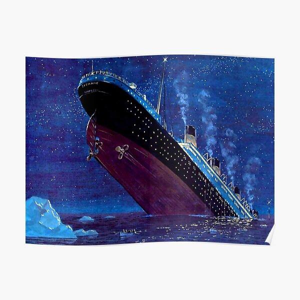 Naufrage du Titanic Poster