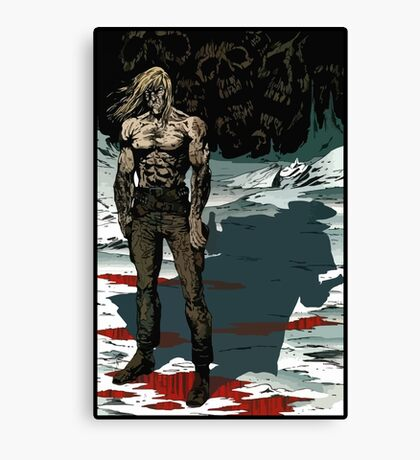 Saint of Killers from Preacher Canvas Print