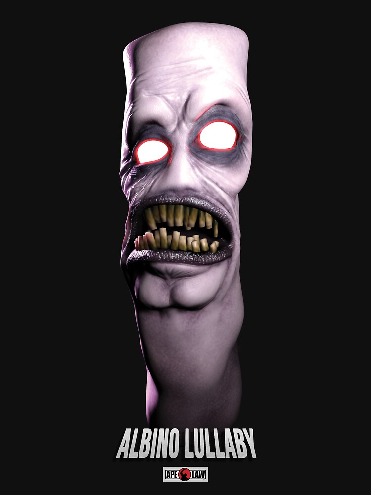 """Albino Lullaby - """"Cornelius"""" - Official Clothing by ApeLaw"""