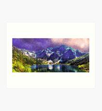 Morskie Oko Poland Lake Tatra Art Print