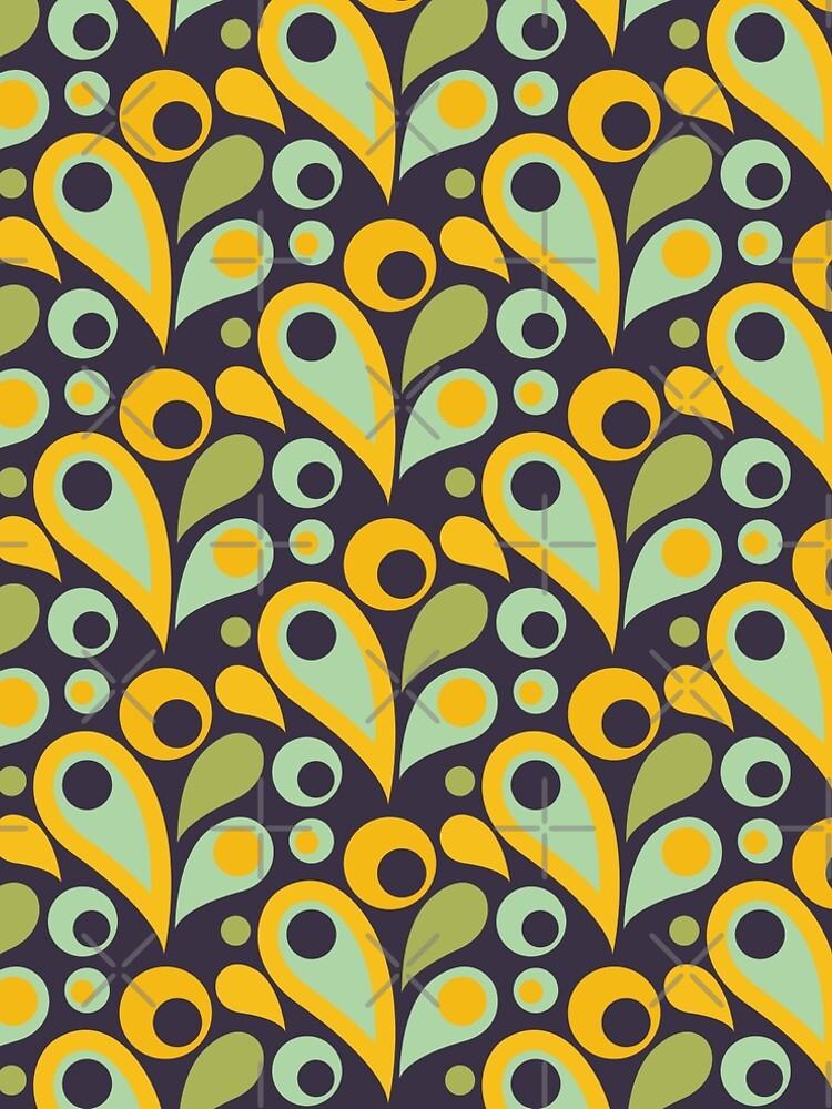Retro Parsley Summer Pattern  von brainbubbles