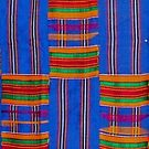 Colours of Africa (14) of a series of African Colours, KENTE of the Ashanti and Ewe in Ghana by Remo Kurka