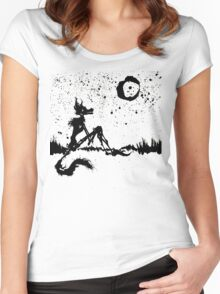 I Wish I Was The Moon Women's Fitted Scoop T-Shirt