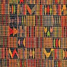 Colours of Africa (17) of a series of African Colours, KENTE of the Ashanti and Ewe in Ghana by Remo Kurka