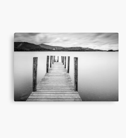Lake District Jetty Canvas Print