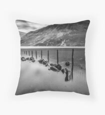 Lake District Tranquility Throw Pillow