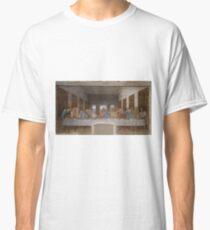 The Last Supper by Leonardo Da Vinci (c. 1498) Classic T-Shirt