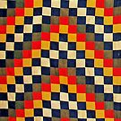 Colours of Africa (19) of a series of African Colours, KENTE of the Ashanti and Ewe in Ghana by Remo Kurka